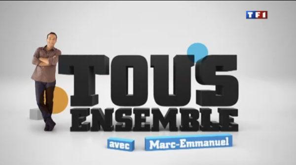 Le Domaine des Graviers participe à l'émission de TF1 : Tous Ensemble ! dans La vie au Domaine des graviers tous-ensemble